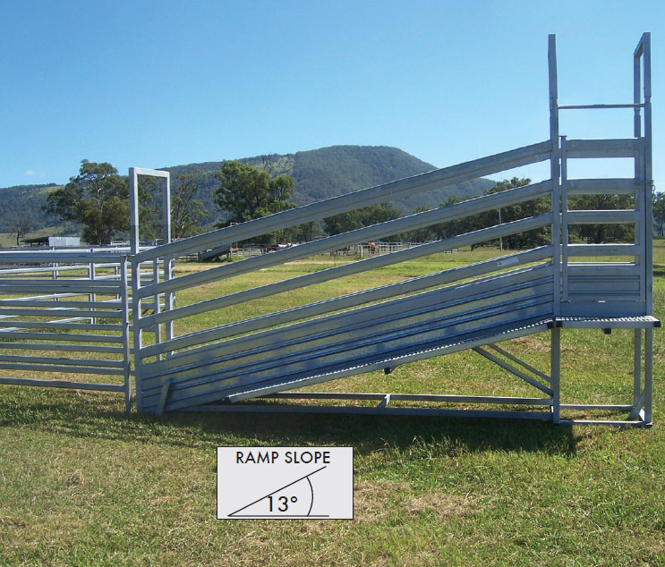 Bullock 4.2 Meter Ramp with Walkway