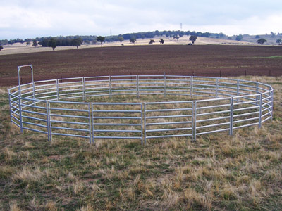 Australian Made Horse Yards - Horse Round Yards from National Stockyard Systems