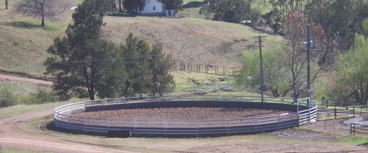 Horse Round Yards Glenrock